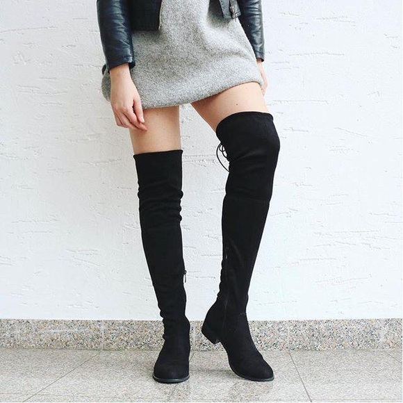 5bfdd24cda9 Public Desire Joy Over the Knee Boots